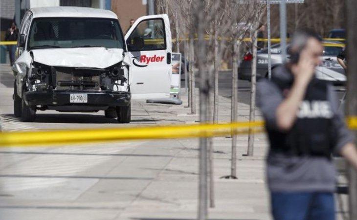 El atropello en Toronto fue vinculado rápidamente con el grupo terrorista Daesh