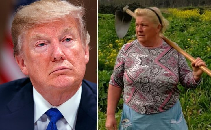 Donald Trump y Dolores Leis