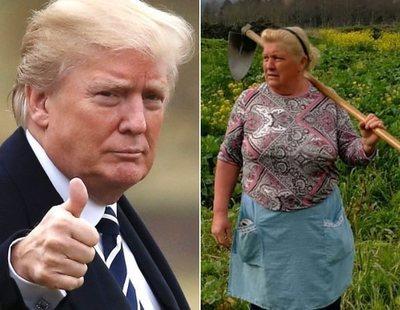 La mujer gallega que es idéntica a Trump