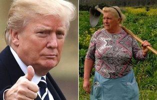 Donald Trump tiene una doble y es una señora gallega