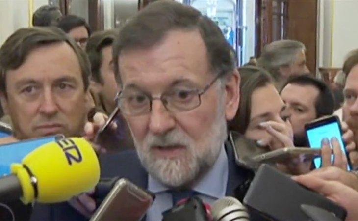 Mariano Rajoy responde a la dimisión de Cifuentes