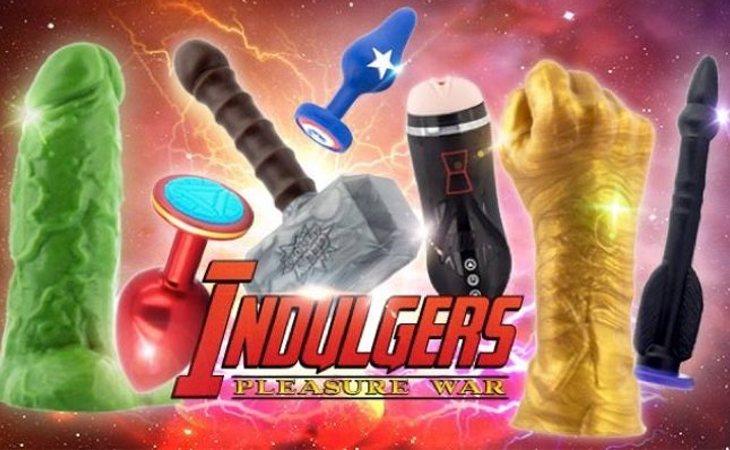 Dildos y juguetes eróticos basados en 'Los Vengadores'