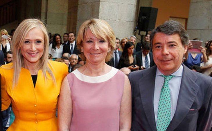 Cristina Cifuentes, Esperanza Aguirre e Ignacio González