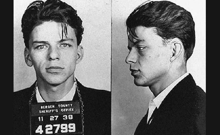 Frank Sinatra detenido en 1938 por adulterio