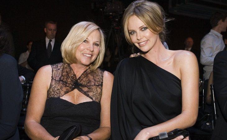 Charlize Theron y su madre, Gerda Maritz