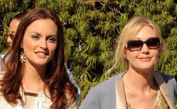 Leighton Meester y su madre, Constance Meester