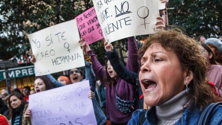 Las manifestaciones han sido masivas