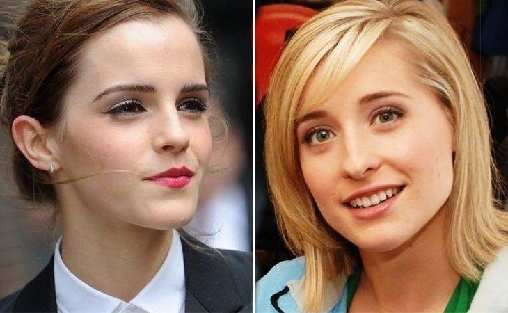 Emma Watson y Kelly Clarson