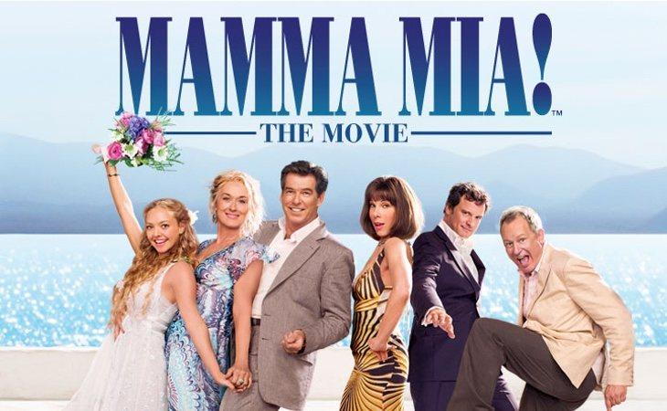 La película 'MammaMía' arrasó en taquilla