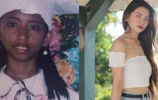 Una joven anuncia el cambio de color de su piel por utilizar un jabón