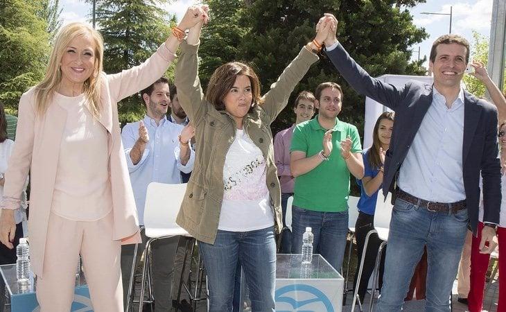 Algunas quinielas señalan un tándem Casado-Soraya de cara a las elecciones de 2019