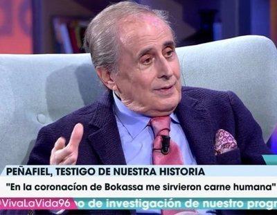 """Jaime Peñafiel y el banquete caníbal: """"Comí carne de escolares asesinados"""""""