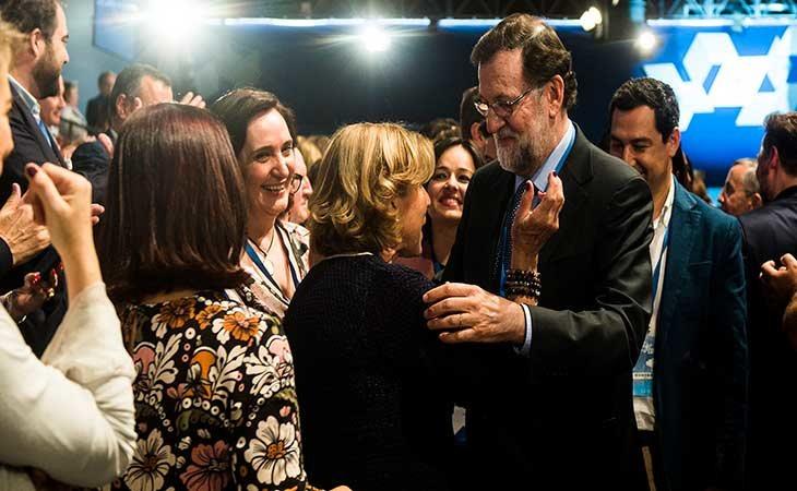 Rajoy en laConvención del PP en Sevilla 2018