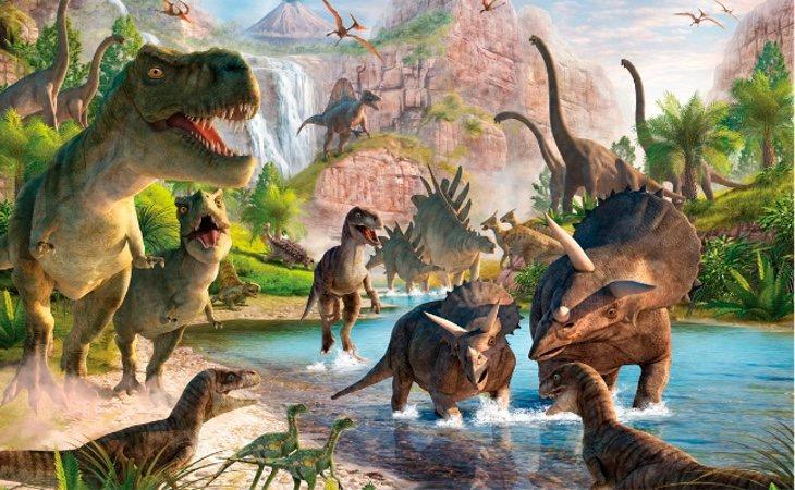 Hay fósiles de dinosaurios, pero sólo los de mayor tamaño