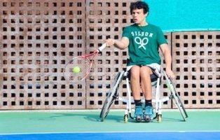 Cisco García, tenista paralípico, denuncia que Ryanair no le ha permitido volar por su silla de ruedas