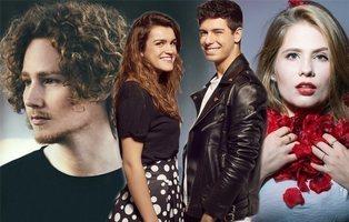 Los representantes de Eurovisión 2018 hacen su propia versión de 'Tu canción'