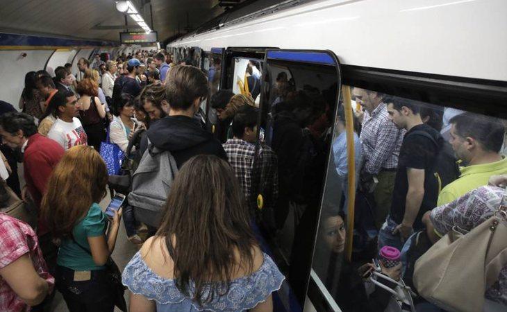 Perder el metro, lo peor que le puede pasar a un madrielño