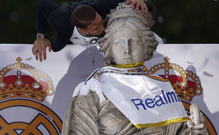 La Cibeles, diosa del Real Madrid