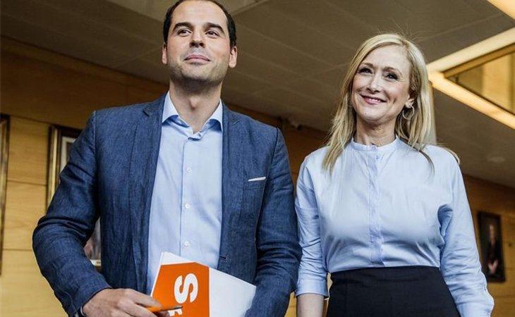 Cristina Cifuentes e Ignacio Aguado (Cs)