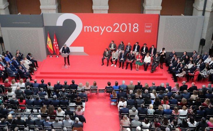 Ángel Garrido ha ocupado el lugar de Cifuentes como presidente en funciones