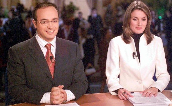 Letizia creció vertiginosamente durante su época en RTVE