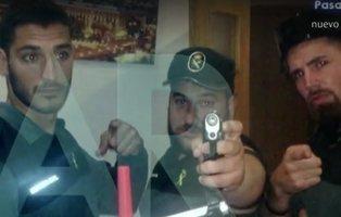 Así preparaba 'La Manada' su viaje a San Fermín: drogas, armas y trajes de Guardia Civil