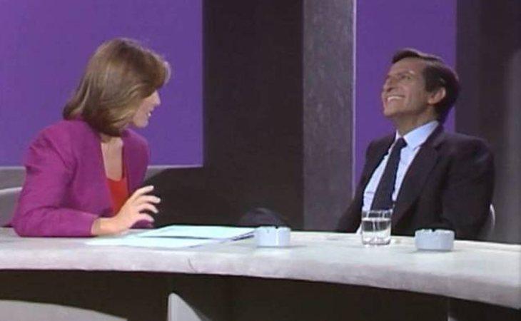 Mercedes Milá entrevistó a Adolfo Suárez en 'De jueves a jueves'