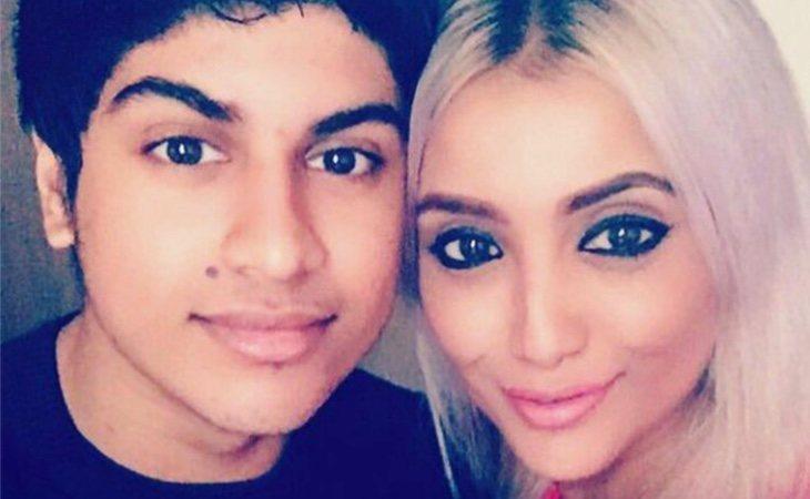 Shimmi con su hijo de 20 años