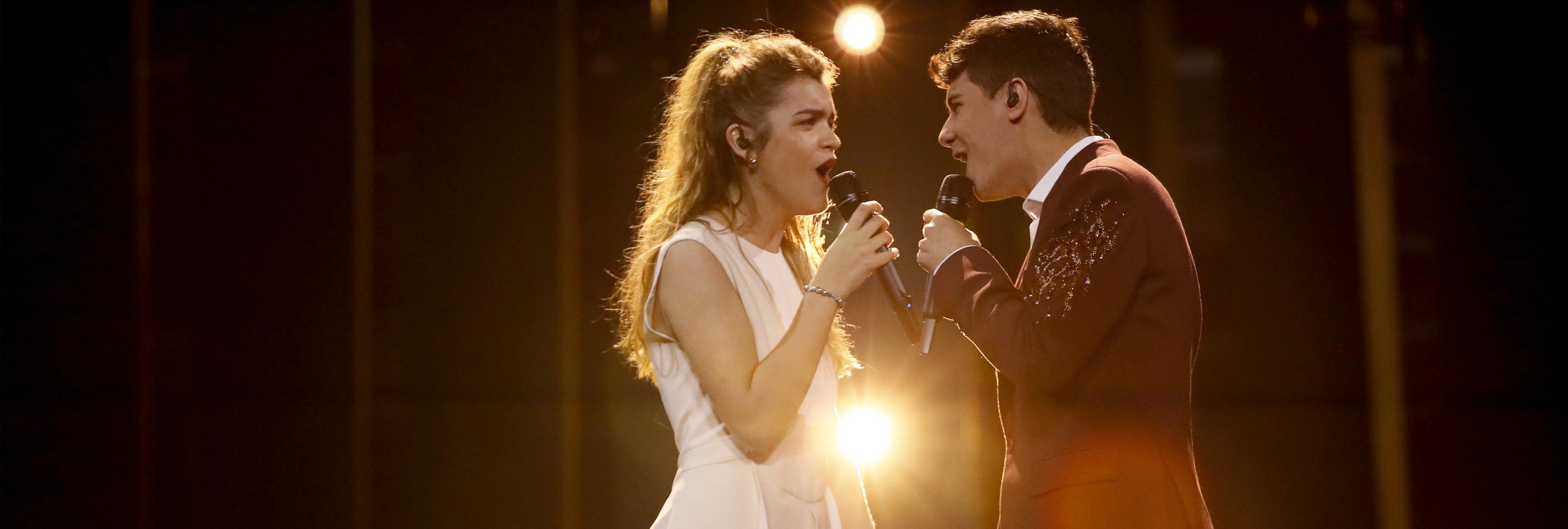 Fría acogida internacional en el primer ensayo de Alfred y Amaia en Eurovisión
