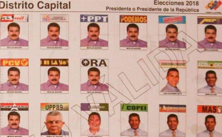 Diez partidos confían en Maduro para la presidencia