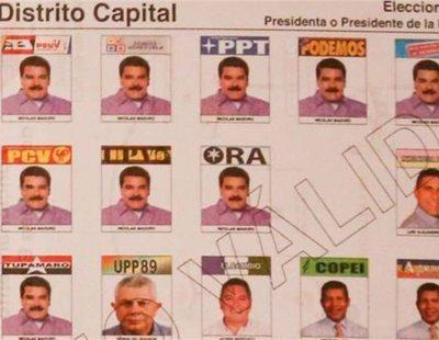 Por qué Nicolás Maduro aparece diez veces en las papeletas para las elecciones de Venezuela