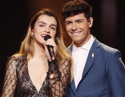 Eurovisión 2018: Sencillez, minimalismo y más recursos de luz en el segundo ensayo de Amaia y Alfred