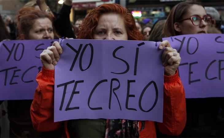 Clamor popular en apoyo a la víctima de 'La Manada'
