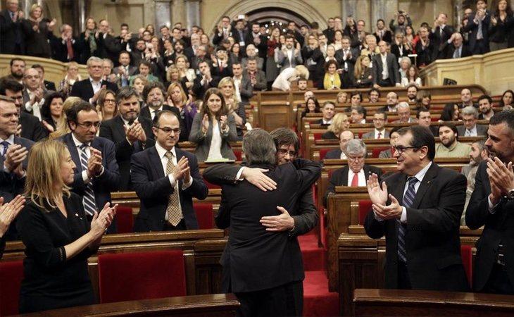 La situación actual del Parlament es de máxima incertidumbre