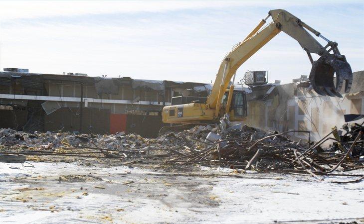 El centro terminó demolido