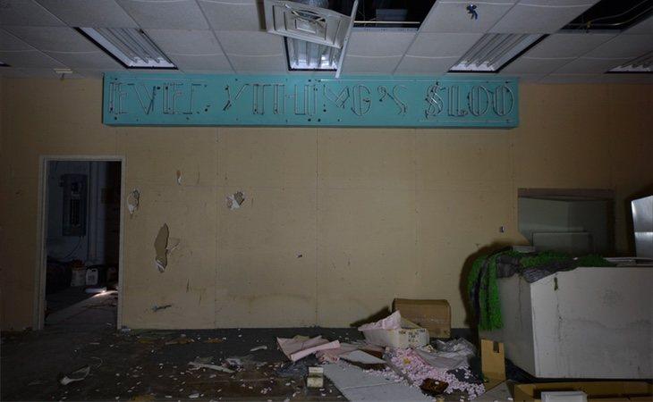 Los interiores han quedado destrozados