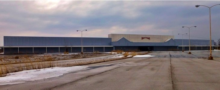 Imagen del centro ya abandonado