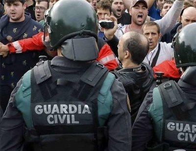 La Guardia Civil exige a Unicef que defienda a los hijos de los agentes en Cataluña