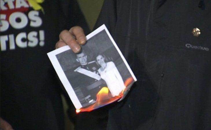 La quema de fotos de los monarcas, libertad de expresión para la Audiencia Nacional