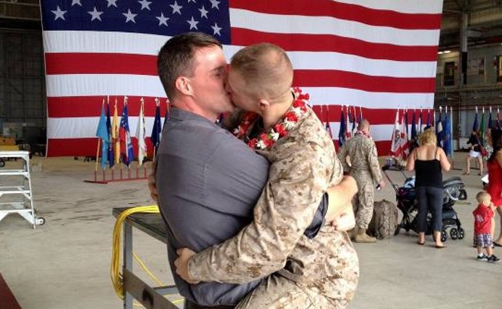 La homosexualidad en el ejército es un tema tabú