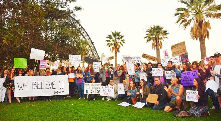 Las protestas han traspasado las fronteras   <em>Imagen @losviajesdedylan</em>