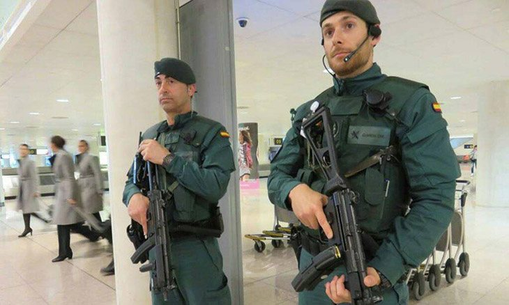 Varios guardias civiles han sido trasladados a Gibraltar a luchar contra el narcotráfico