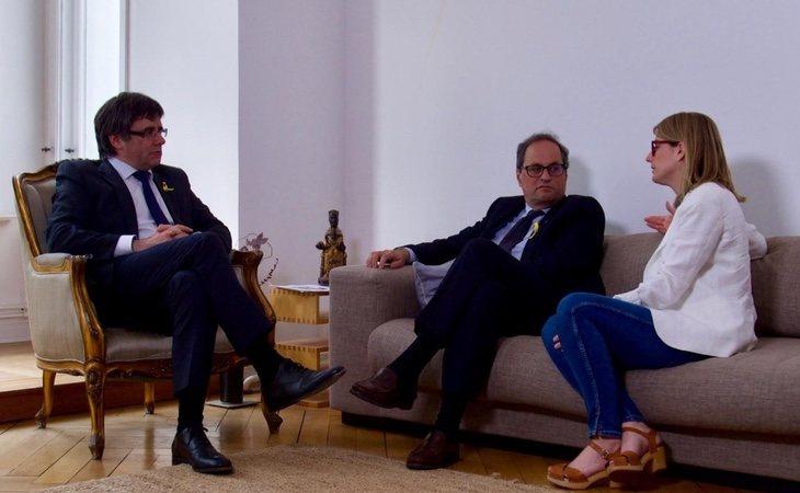 Las diferencias entre Quim Torra y Puigdemont pueden ser especialemente duras