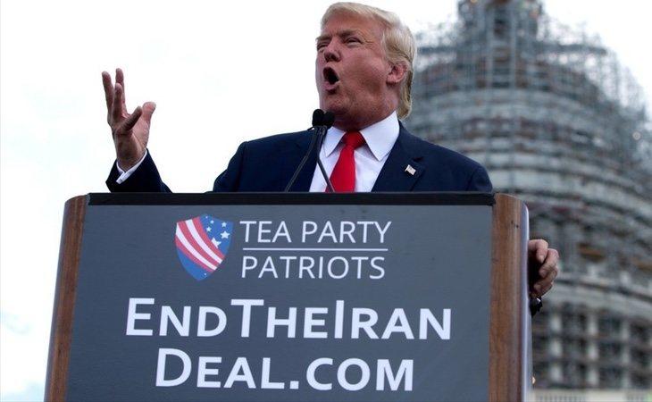 Trump siempre se manifestó en contra del acuerdo nuclear co Irán