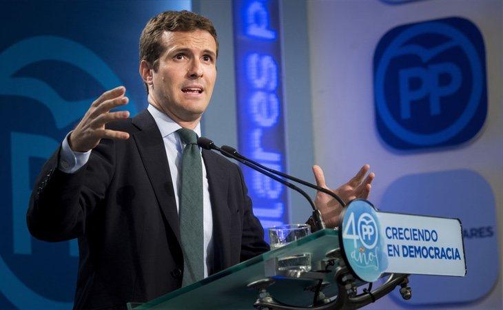 Pablo Casado continúa en el ojo del huracán
