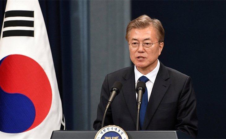 Moon Jae-in,líder de Corea del Sur