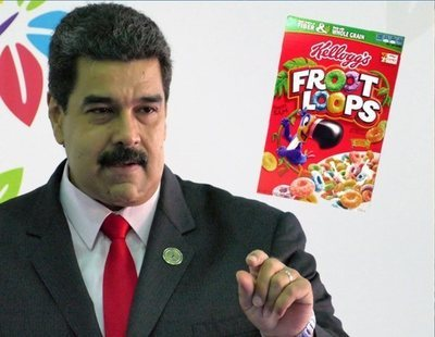 Maduro pide la detención inmediata de la cúpula de cereales Kellogg's ante la Interpol