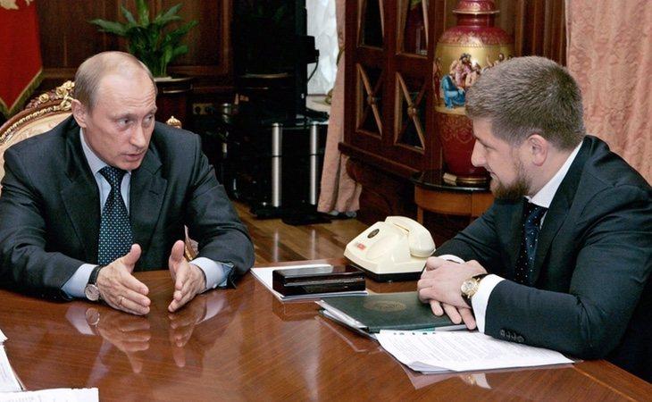 Ramzán Kadyrov cuenta con el apoyo y la confianza de Vladimir Putin