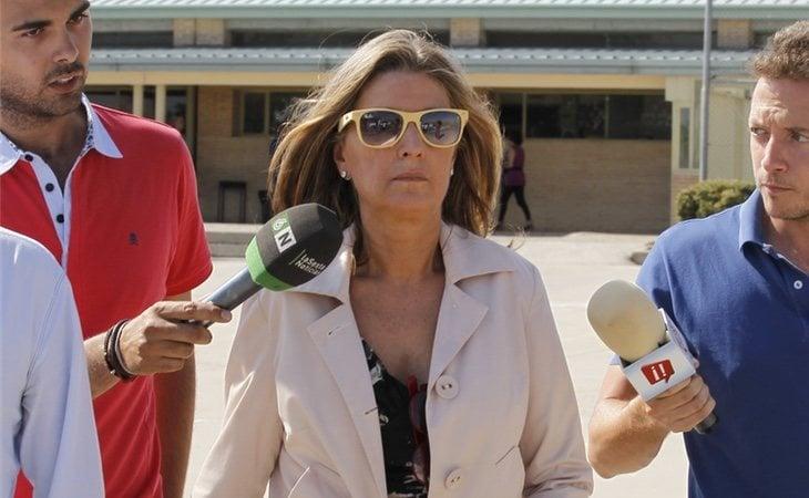 Rosalía Iglesias negó conocer los negocios de su marido