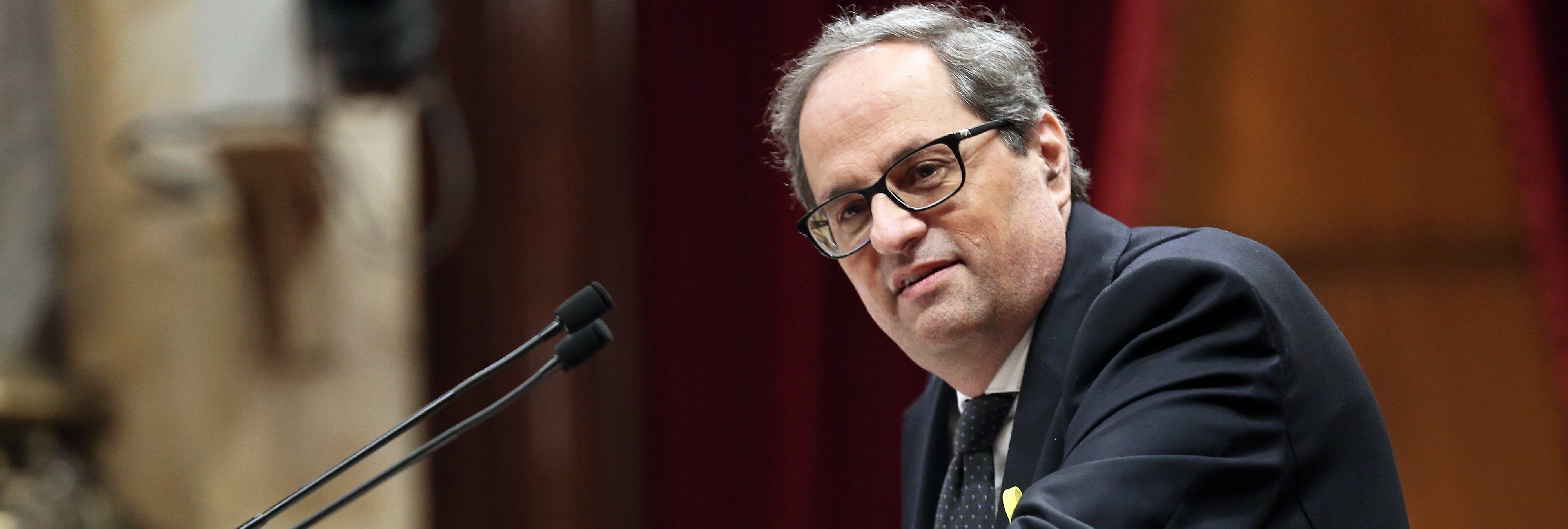 La Fiscalía baraja querellarse contra Quim Torra por delito de odio